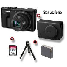 Panasonic Lumix DMC-TZ81 MEGA-SET Kompaktkamera - Schwarz Fachhändler