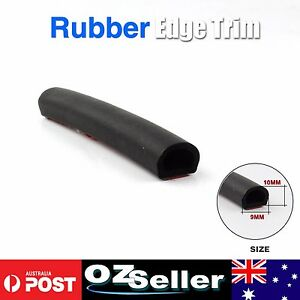 Custom Car Door 10*9mm D Shape EPDM Foam 3.8M Self-adhesive Rubber Seal Strips