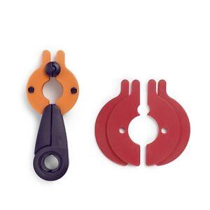 Petit 2 IN 1 Pompon Maker 3.5cm - 5 CM, Inclus Instructions Prym 624180