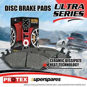 4 Rear Protex Ultra Brake Pads for Subaru Liberty BM Outback BP BR WRX XV