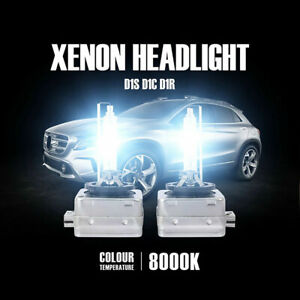 2 AMPOULE XENON D1S 35W HAUTE QUALITEE POUR BMW E60 E61 AVEC FEUX BI XENON 8000k