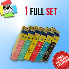 Full Set of non-OEM Ink Cartridges for EPSON Stylus Photo PX720WD PX800FW