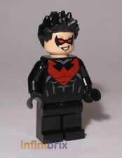 Lego Nightwing from Set 76011 Batman Man-Bat Attack Super Heroes BRAND NEW sh085