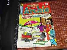 ARCHIE Comics #243 April 1975 Betty VERONICA Miracle the Snowmobile Jalopy