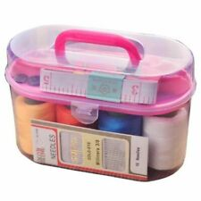 Sewing Tools Box Household Portable 10 Piece Set Mini Thread Sewing Kit Boxes
