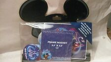 Disney Mickey Mouse Ears Pencil Case With Buttons Key Chain Sticker & Magnet d81