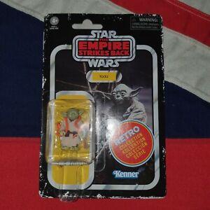 Star Wars Retro Collection Action Figures YODA with Orange Snake Kenner Vintage