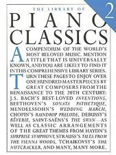 Library of Piano Classics 2 Sheet Music Piano Solo Book NEW 014019047