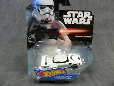 Hot Wheels Star Wars NEW * Stormtrooper Character Car * Die-Cast Vehicle DXP39