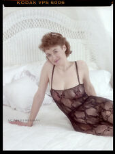 """Nude 2"""" Negative Busty Mature Amateur Woman Original Vintage Pinup Photo D48"""