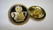 2  Uniformknöpfe  Sachsen mit Wappen für historische Darsteller