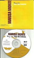 MARISA MONTE Rose and Charcoal 4TRX UK SAMPLER PROMO CD VELVET UNDERGOUND trk