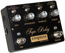 Empress Effects Tape Delay Guitar Effects Pedal New Free Shipping