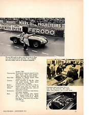 1955 MG TF 1500  ~  AWESOME ORIGINAL 2-PAGE ARTICLE / AD