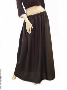 Long Black Victorian / Edwardian Skirt - Custom Made Choose Length + Waist