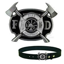 * FireFighter Feuerwache Feuerwehr Gürtelschnalle Belt Buckle  *213