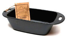 Bread Pan - Pre-Seasoned Cast Iron 11-3/4 inches By Old Mountain