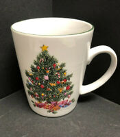 Salem Style Porcelain Fine China CHRISTMAS EVE Christmas tree Coffee/Tea Mug New