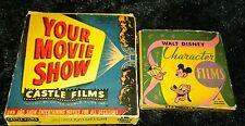Vtg Film Castle Films  Your Movie Show &Walt Disney Character