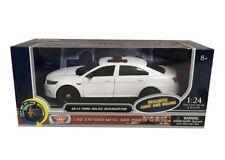 Motor Max 1/24 2013 Ford Police Interceptor Light & Sound Diecast Car 79538