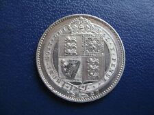 More details for victoria 1887 silver shilling jubilee head s.3926 ef grade