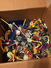 11 Lb Bulk Lot of Loose, Assorted K'NEX Building Pieces and Toy Parts - LOT