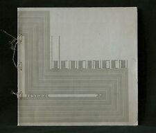 Wendingen art deco magazine 1929 no.5/6 Architecture J.F Staal, cover Kropholler