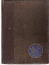 1921 East Night High School Cincinnati, Ohio Yearbook Annual Year Book