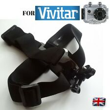 Helmet Strap fits Vivitar DVR 794HD HD108P 787HD 914HD 783HD 786HD DVR785HD-BLU