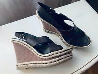 Baldinini, Damen Schuhe, Echtleder, Braun, Gr.39, Neu, Luxus 👌