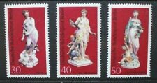 GERMANY BERLIN 1974 Porcelain Figures. Set of 3. Mint Never Hinged. SGB463/B465.