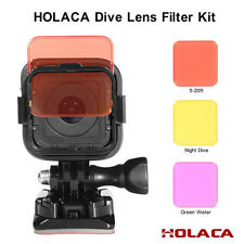 Professional Colorful Switchable Diving Lens Filter For GoPro Hero 4 5 Session