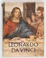 "Vintage Leonardo Da Vinci HCDJ Book Printed in Italy Reynal and Company 15"" X 11"