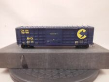 HO SCALE ROLLER  BEARING CRAFTSMAN KIT BUILT CHESSIE SYSTEM WAFFLE SIDE BOX CAR