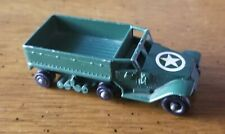 Matchbox Lesney No 49 M3 Personnel Carrier - Made In England Missing 1 Track