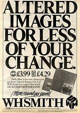 8/5/1982Pg23 Album Advert 15x10 Altered Images, Pinky Blue (w.h. Smith)