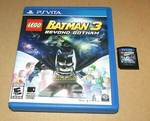 LEGO Batman 3: Beyond Gotham for Playstation Vita Fast Shipping