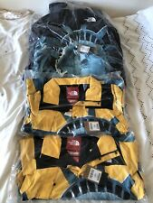 Supreme x The North Face Liberty Mountain Jacket Yellow Medium NEW DEADSTOCK