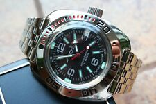 Russian Mechanical Automatic Wrist Watch VOSTOK AMPHIBIAN DIVER 710640