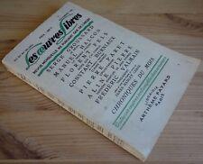 Lot Les oeuvres libres n°126 et 127 - 1956 - Fels, Valmain, Goll, Schiller - BE