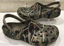 CROCS Classic Mules/Clogs  Camouflage Design Mens Size 12