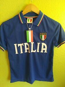 Italia football club Kids shirt size 11/12 soccer. Brand new w/ tags blue