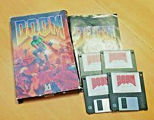 Doom 1.666 id Software 1993 IBM PC Karton Box