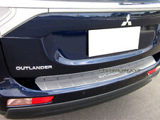 Stainless Rear Step Bumper Panel Protection for Mistubishi Outlander ZJ 2013-15