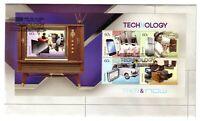 "2012 FDC Australia. Technology Then & Now. M.S. Pict.FDI  ""NOWRA"""