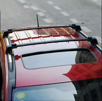 Fit For Jeep Compass 2011-2016 Roof Rack Cross Bars Black