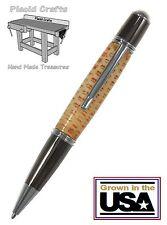 Handmade Corn Cob Ball Point Pen with Chrome & Gun Metal Hardware #CP108