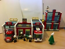 Lego City 7208 Fire Station