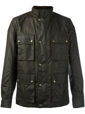 BELSTAFF Men's Trialmaster Wax jacket, Green, 48