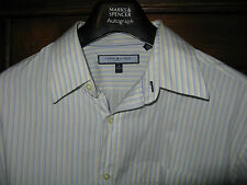 Tommy Hilfiger striped shirt SIZE: 16 collar 34-35 L Excellent condition